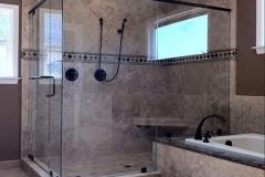 Shower Doors frameless and Semi-Framless
