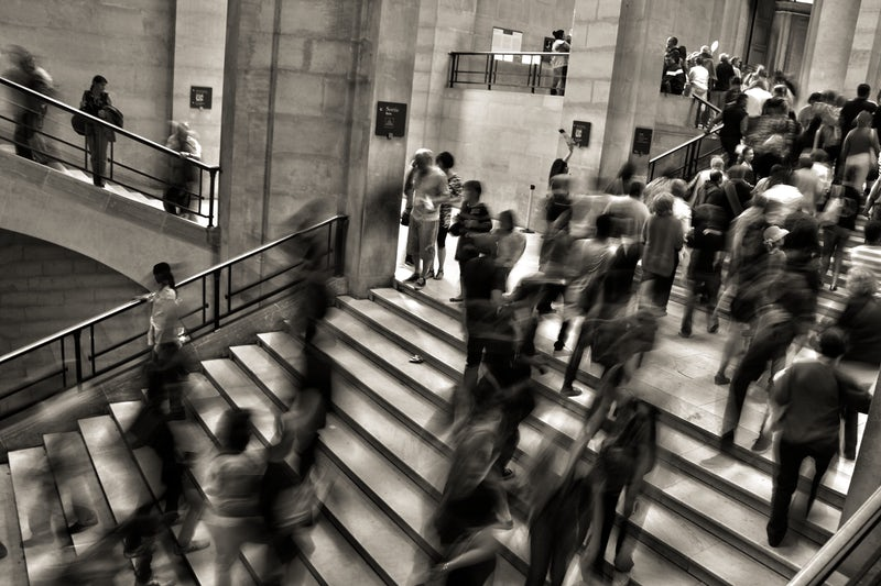 People staircase