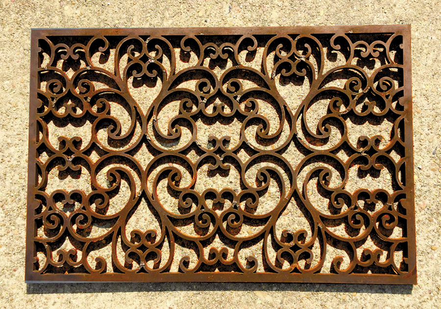 Mississippi Iron Works - Door Mat