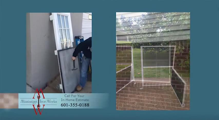 Mississippi Iron Works - Security Screens Hattiesburg