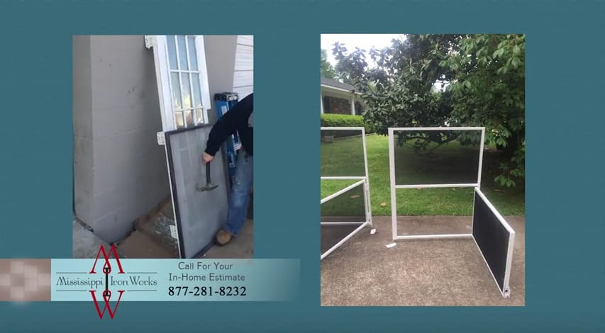 Mississippi Iron Works - Steel Security Screen
