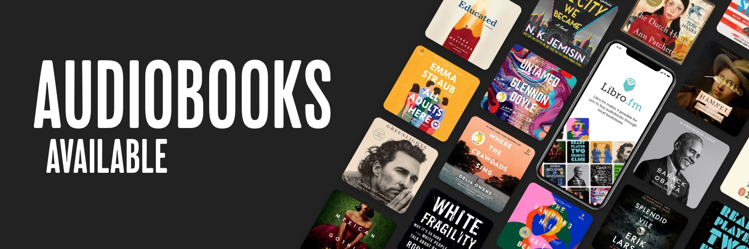 LibroFM | Audiobooks at Scout & Morgan Books