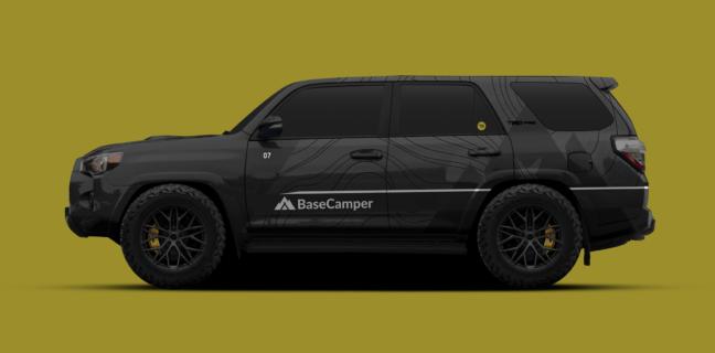 Custom Designed Car Wrap