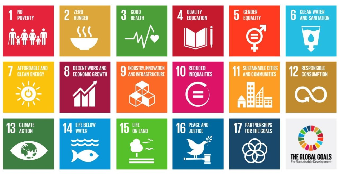 The Global Goals for sustainable development.