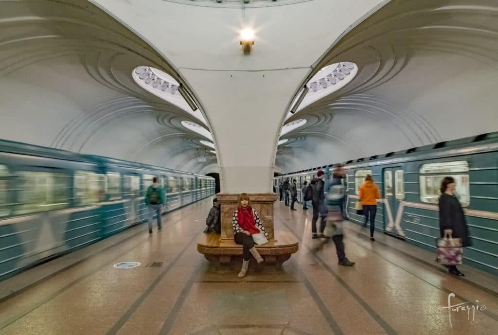 Sokol Station | Moscow Metro | Russia