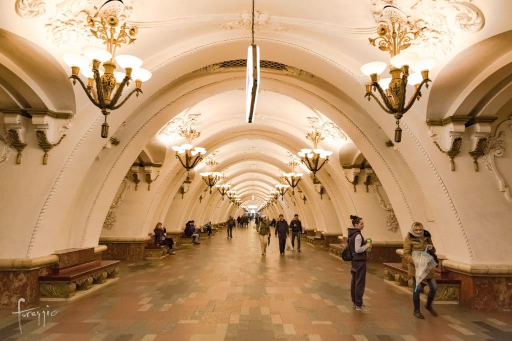 Arbatskaya Station   Moscow Metro   Russia