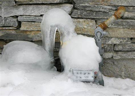 Dangers of Abnormal Snow and Ice Build-Up on Gas Related Equipment