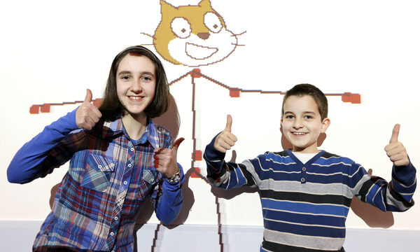 Ina and Alan Panayostova aged 14 and 10 from Cork