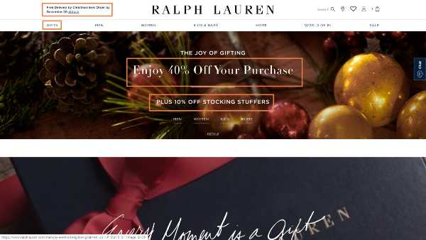 Last Minute Marketing for Holiday Sales – Great Example and Trends