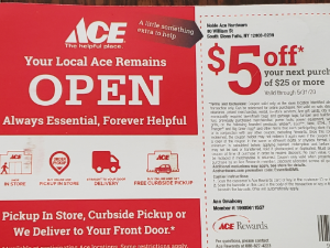 ace hardware direct mailing