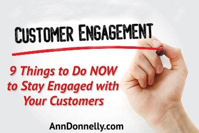 stay engaged with customers