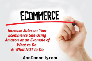 increase sales ecommerce