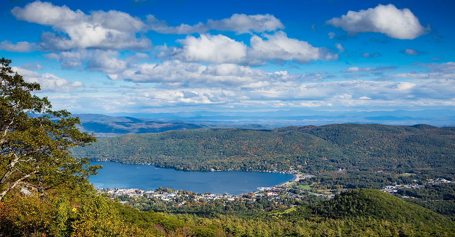 View of Lake George from Prospect Mountain