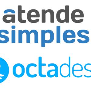 Logo Atende Simples e Octadesk