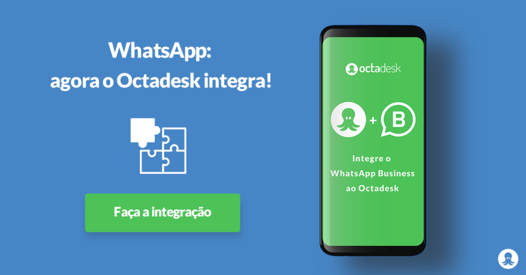 Integração do WhatsApp Business no sistema Octadesk
