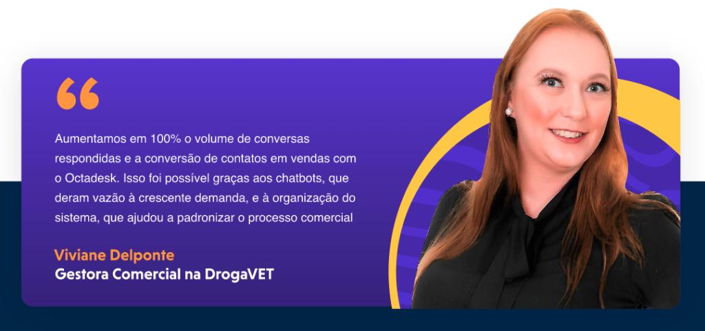 Atendimento ao cliente da Drogavet com Octadesk