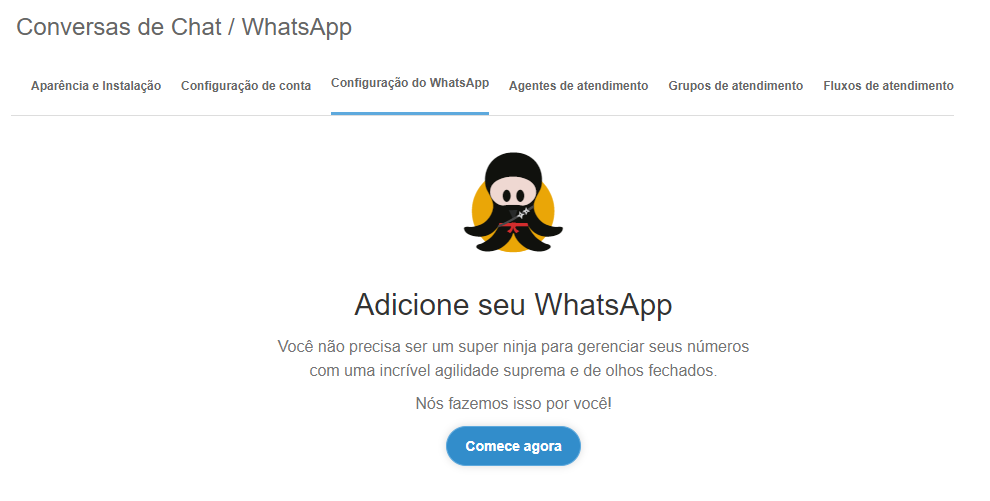 Conectar o WhatsApp Business ao Octadesk