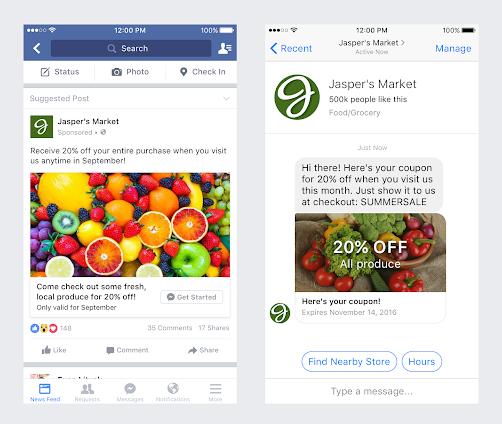 Anúncios no Facebook Messenger