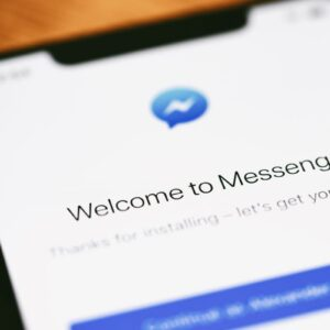 Aplicativo do Facebook Messenger.