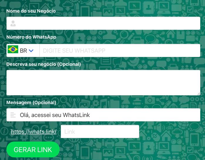 Gerador de link para WhatsApp