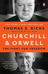 What Tom's Reading: Churchill & Orwell, HumbleDollar, breaking the smartphone addiction