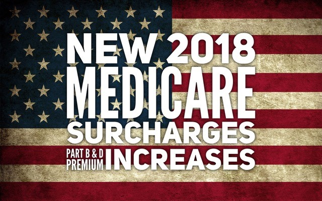 New 2018 Medicare Surcharges
