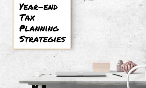 2018 year-end tax planning strategies