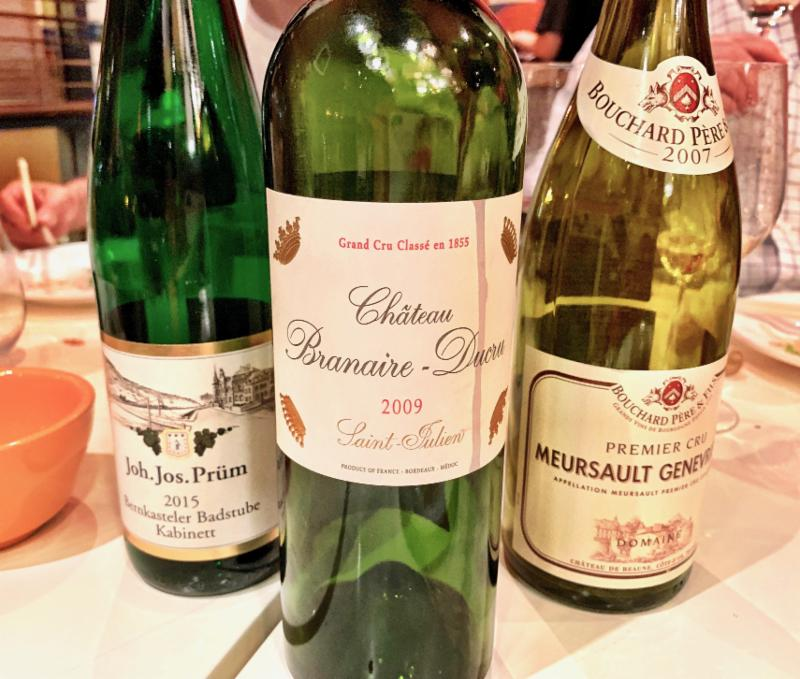 The Wine Advisor: Here's what made a birthday dinner extra special!