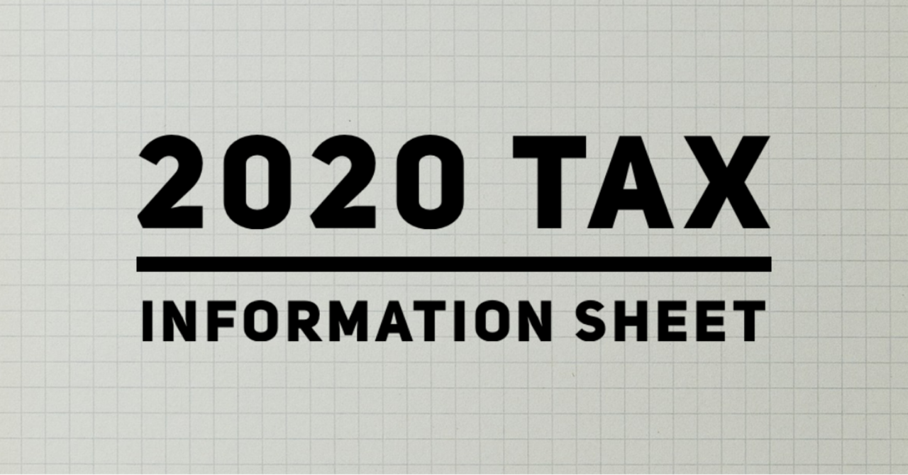 Your 2020 Tax Information Guide