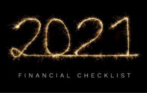 financial checklists setting goals