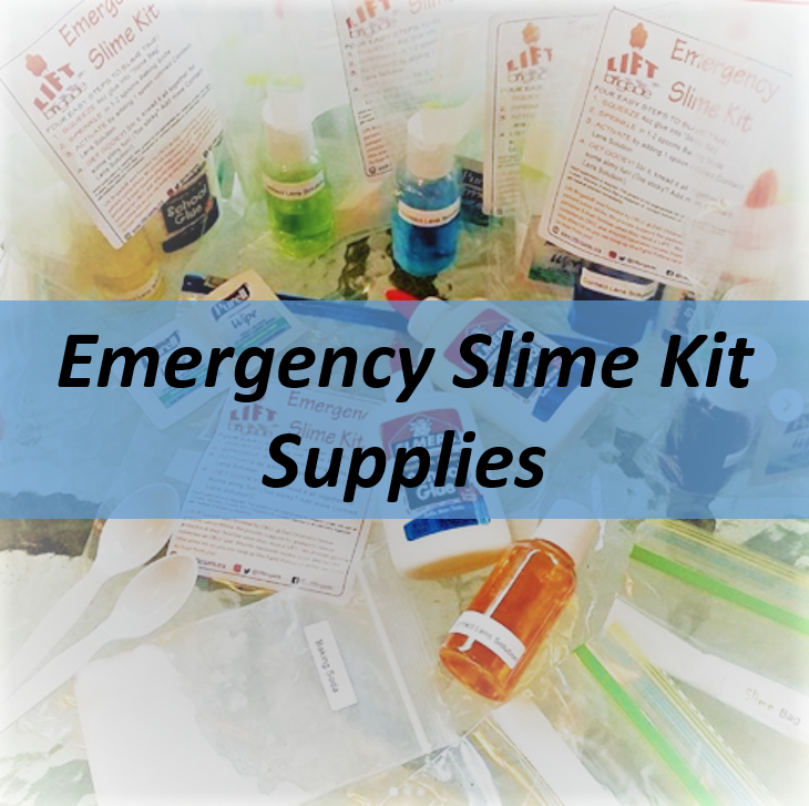 Emergency Slime Kit Supplies