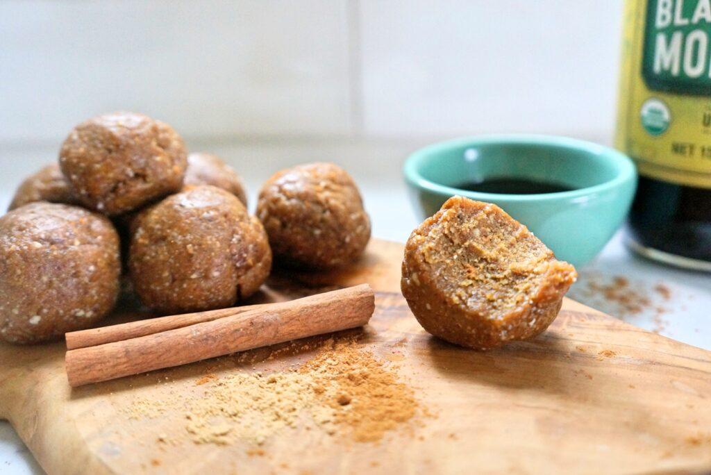 Molasses Ginger Balls
