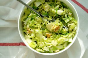 Brussels Sprouts Apple Salad