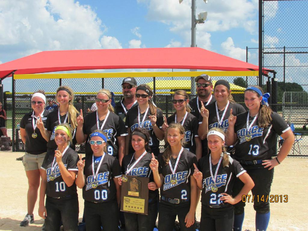 2013 16U ASA Illinois State Champions