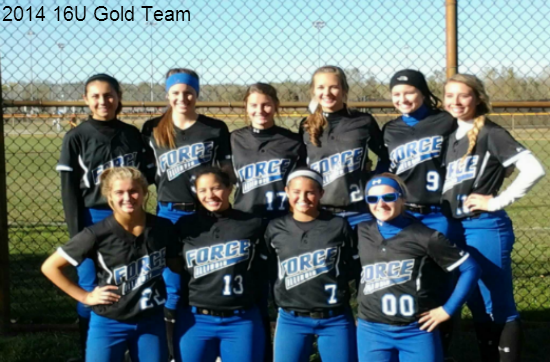 2014 16U Gold