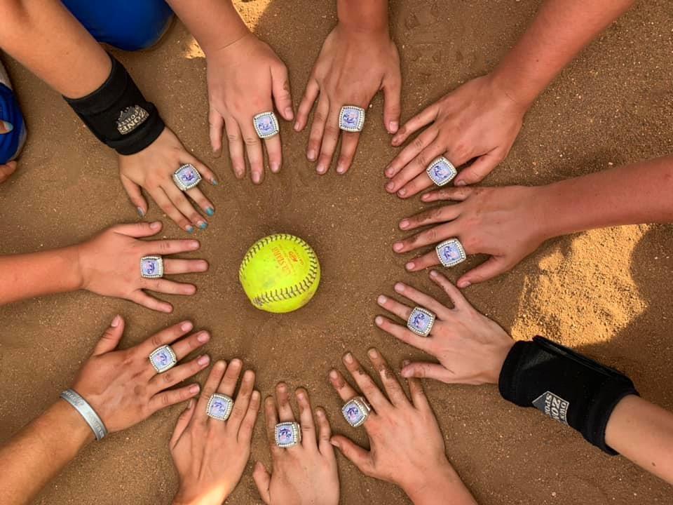 2019 18U NFA Champion Rings
