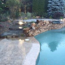 Stamped Concrete Pool Deck Manalapan NJ