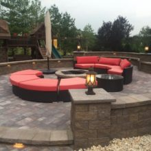 Natural Stone Patio in Manalapan NJ