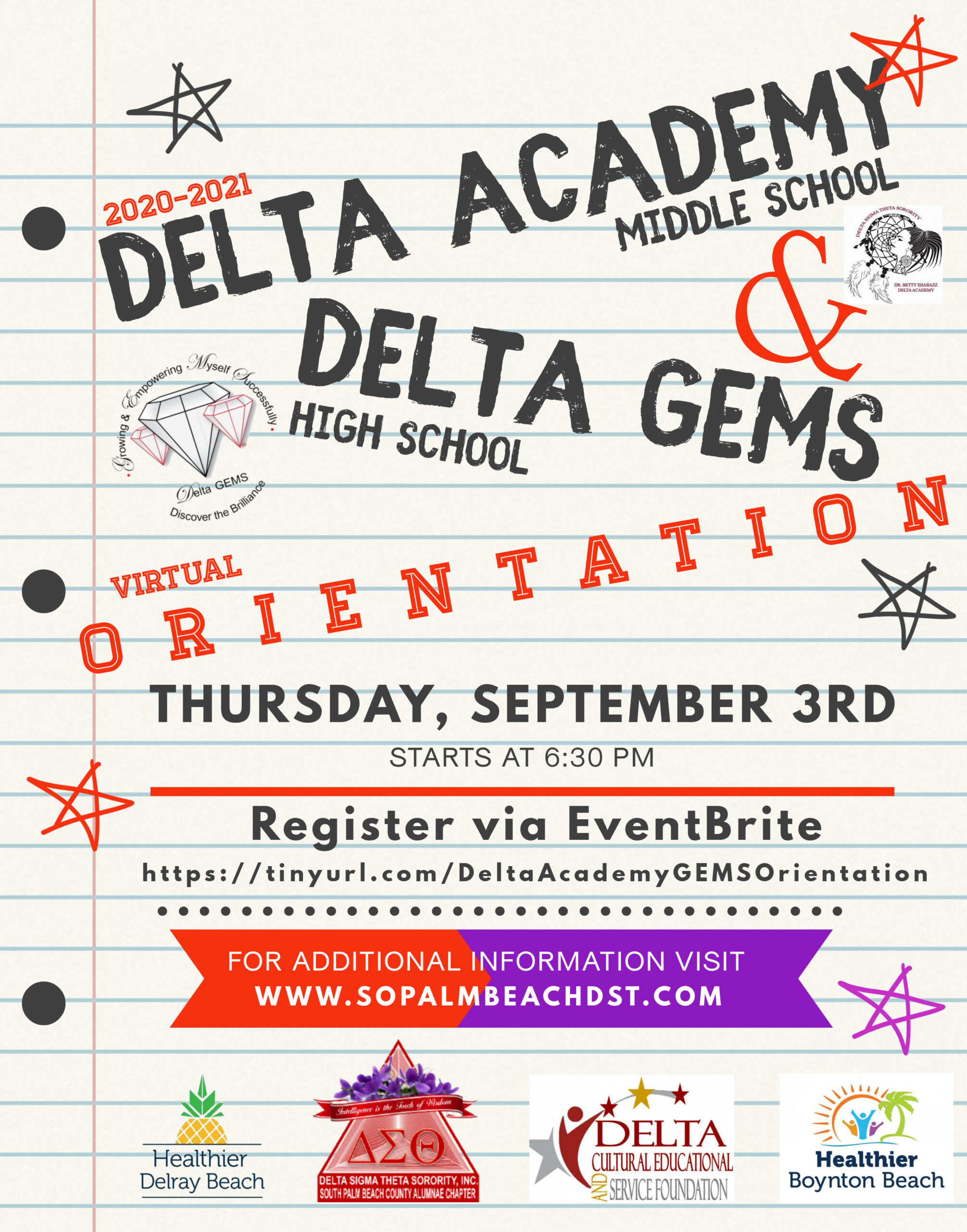 2020-2021 Delta Academy – Delta GEMS Application Available