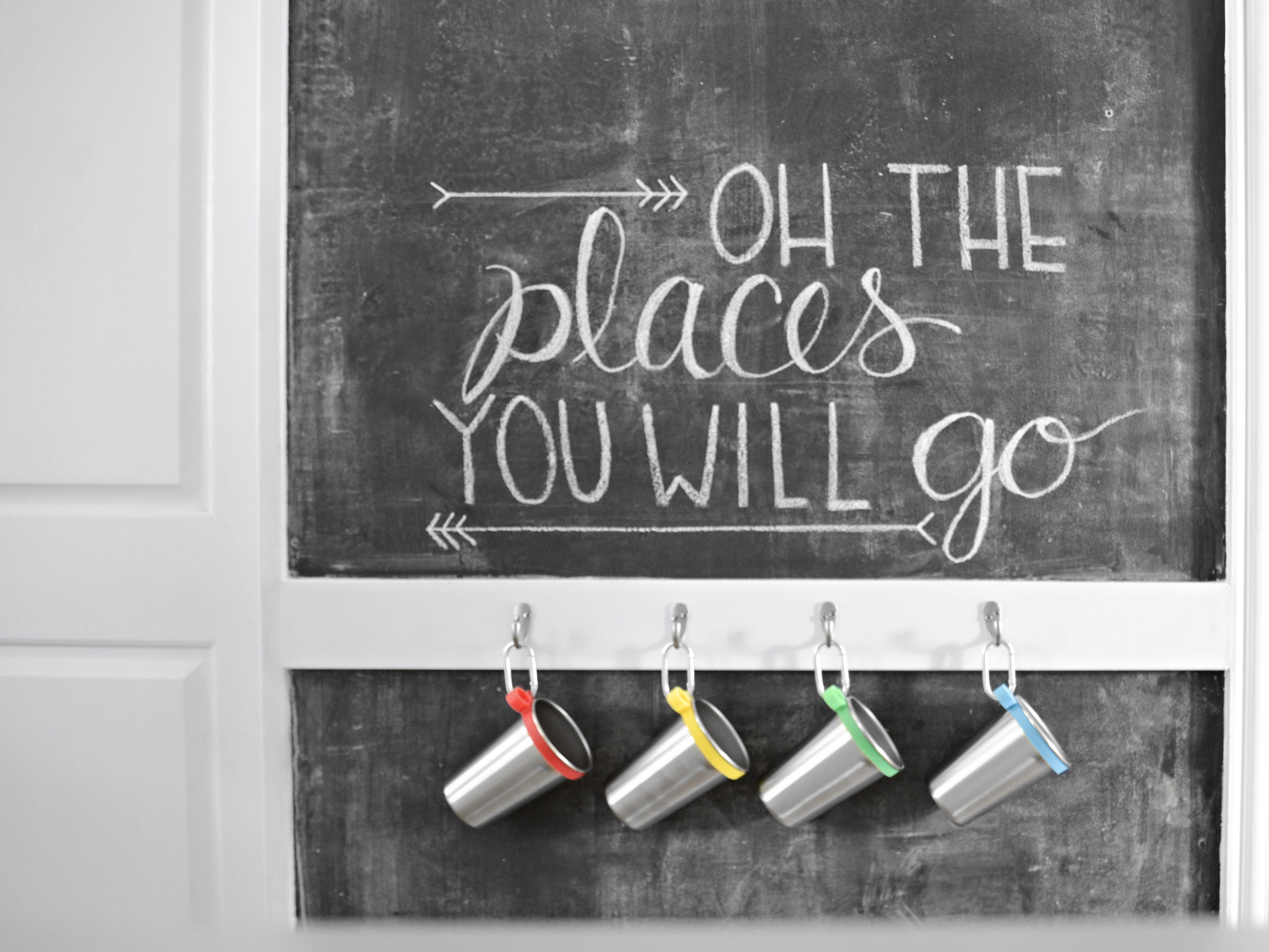 How to create a SMOOTH chalkboard wall