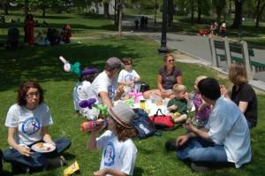 New York Picnic for Families of Children with Hemiplegia