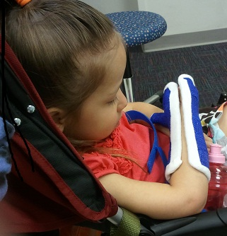 Holly Escapes from Her Constraint Therapy Cast