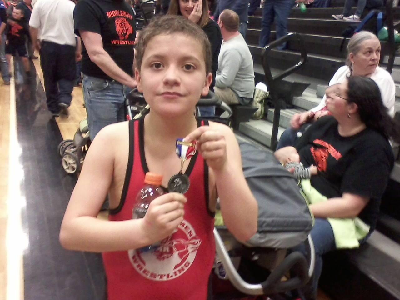 Meet Chris – Loves Wrestling