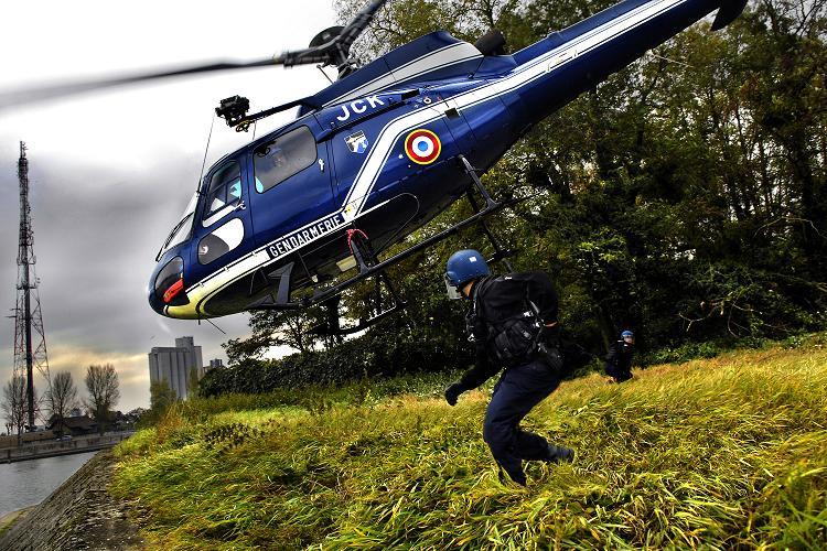 Le gendarmerie vient en aide à la police près d'Angers