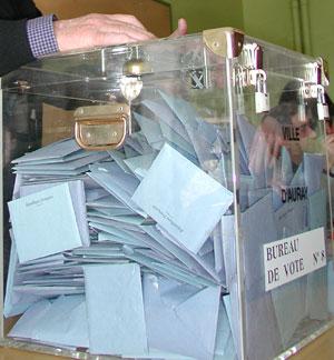 Le premier tour des élections départementales en Maine-et-Loire
