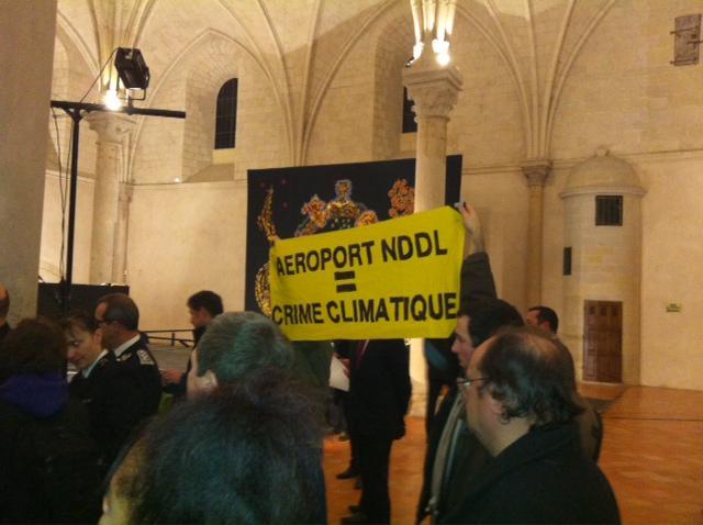 Crédit AM - Archives / Aéroport Notre-Dame-Des-Landes. NPA, écologistes et Front national montent au créneau.