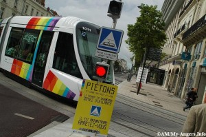 Le tramway à Angers