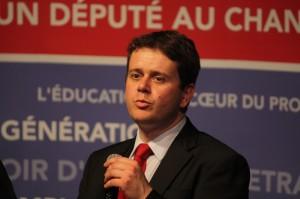 Le députe PS de Maine-et-Loire , Luc Belot,