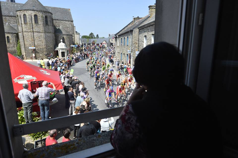 Passage du Tour de France dans le Maine-et-Loire