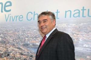 Le maire de Cholet Gilles Bourdouleix, le 23 juin 2011 à Cholet - AFP